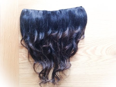 One Piece Ombre Hair Extension - How To DIY !!