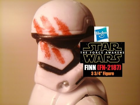 Fu-Reviews: Hasbro Star Wars The Force Awakens Finn (FN-2187) 3 3/4