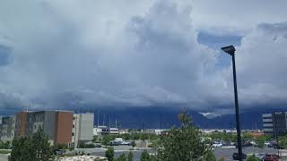 Time lapse - Salt Lake City Weather, May 20th