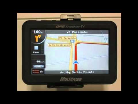 GPS Multilaser Tracker TV 4.3