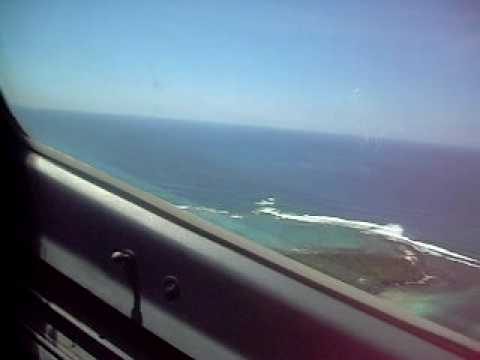 Take off and climbing from Mauritius SSR Int. airport (FIMP) heading to Louis Botha Durban Int. airport (DUR) in Air Mauritius A340-300 (3B-NAU Pink Pigeon) ...
