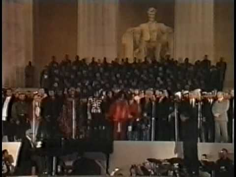 video 1992 clinton gala we are the world michael jackson