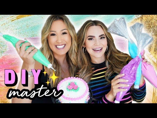 DIY MASTER 10: Cake Decorating w/ Rosanna Pansino thumbnail