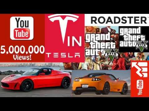 Tesla motor roadster in gta 5 Gtand Theft Auto V