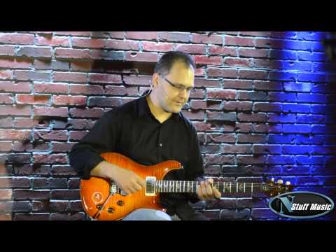 PRS DGT David Grissom with Tremolo - Solana Burst