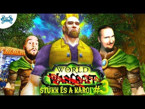 StüKk Beveri Shadowfang Keep-et│World of Warcraft 3. Rész Hun Magyar Twitch Élő