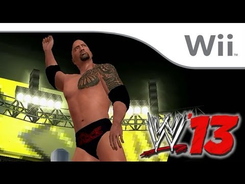 WWE 13 - The Rock VS John Cena [Wii]