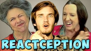 PewDiePie Reacts To: Elders React To: PewDiePie... | PewDiePie