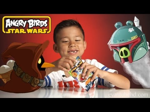 Opening 6 Angry Birds STARS WARS SERIES 2 Blind Bags! Part 3