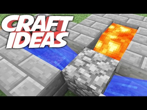 COBBLESTONE GENERATOR   Minecraft Crafting Ideas!
