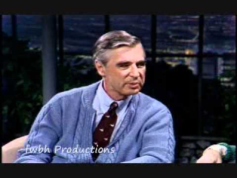 Mister Rogers on Tonight Show (1983)
