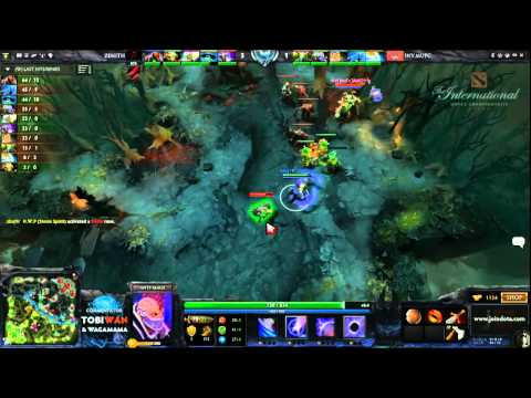 Zenith vs MUFC Game 2   The International 3 Group Stages   Tobi Wan & Waga
