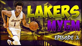 NBA2K17 MyGM Los Angeles Lakers EP.#2: Trade Talks!!!