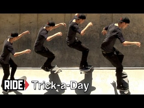 How-To Shuvit Noseslide With Chris Troy - Trick-a-Day