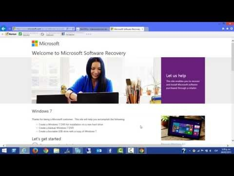 Microsoft Software Recovery para Windows 7