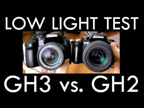 Panasonic GH3 vs. GH2 Low Light / High ISO test (3200 & 6400)