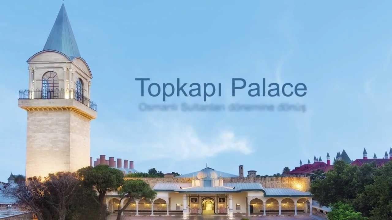 WOW Topkapı Palace - Lara, Antalya  MNG Turizm - YouTube