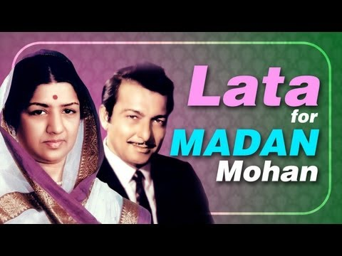Lata Mangeshkar for Madan Mohan -Jukebox - Top 10 Lata songs...