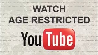Enable Youtube Video Age Restricted Bangla Tutorial