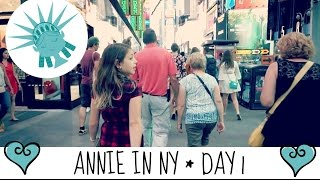 Annie travels to New York Day 1 | Shopping at Forever 21 Kids on Times Sq