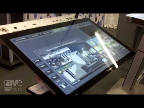 ISE 2015: Intelligent Lectern Systems Launches the Chameleon Lectern Series