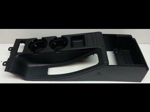 BMW e46 M3 330 325 328 Center Console Arm Rest Removal