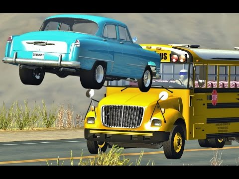 BeamNG Drive BEST CRASHES #2 - 50,000 Subscriber Compilation
