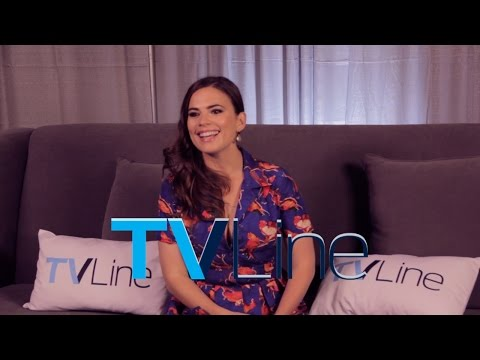 "Hayley Atwell ""Marvel's Agent Carter"" Interview at Comic-Con 2014 - TVLine"
