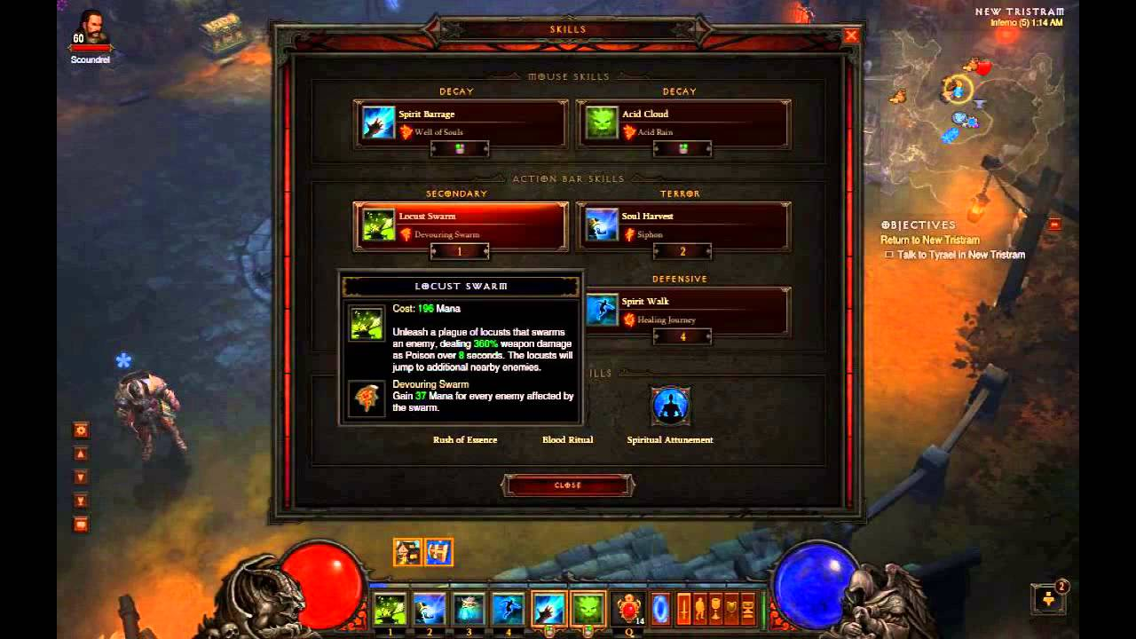 diablo 3 witch doctor leveling guide