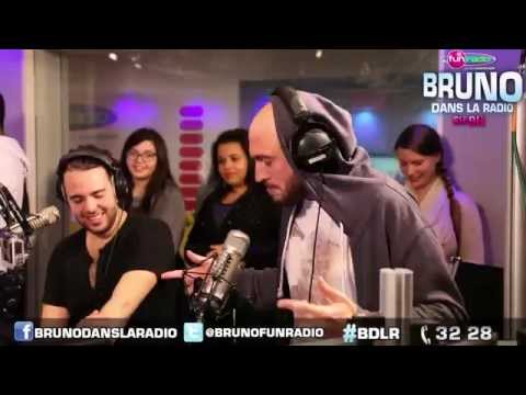 Nicolas clash Soprano - Le best of en images de Bruno dans la Radio (23/10/2014)