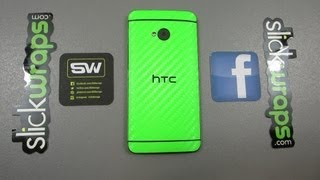 One for the Money - SlickWraps for the HTC One (Unboxing and Installation)