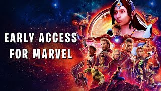 EARLY ACCESS FOR MARVEL MOVIES (SingSing Dota 2 Highlights #1222)