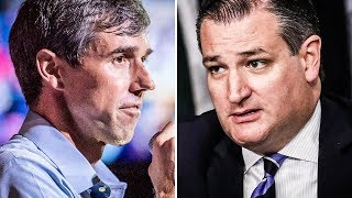 Ted Cruz Caught STARING At Pic Of Beto O'Rourke On Airplane