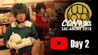 Iwood Cosplay Con Vlog Sac-Anime 2018 Winter [Day 2 of 3]