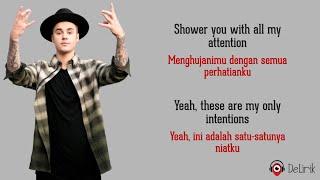Download lagu Intentions - Justin Bieber ft. Quavo (Lyrics video dan terjemahan)