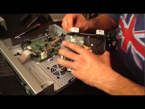 U-Verse DVR Motorola VIP 1225 Hard Drive Upgrade Hack