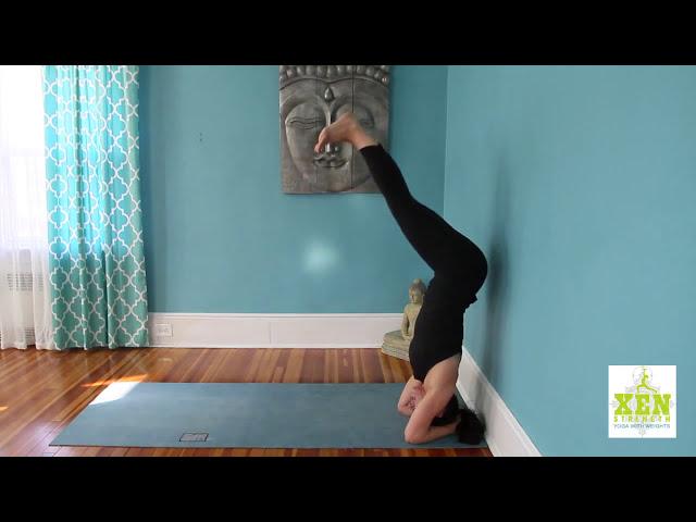 Beginner Headstand Pose Alignment