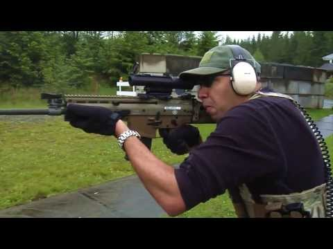 Handl Defense SCAR25 Review - FN Scar 17 Aluminum SR25 pattern Lower receiver