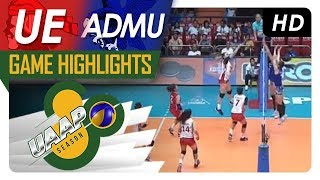 UAAP 80 WV: UE vs. ADMU | Game Highlights | March 21, 2018
