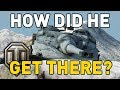 World of Tanks || How Did He Get There?