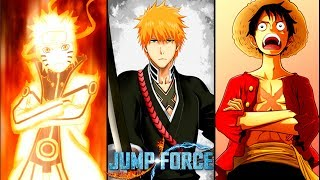 JUMP FORCE ! LE BIG 3 !