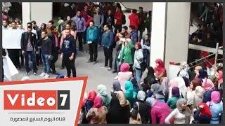 بالفيديو..مسيرة لطلاب الإخوان الإرهابية بجامعة عين شمس