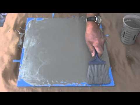 How To Make Concrete Floors Look Like Wood Youtube