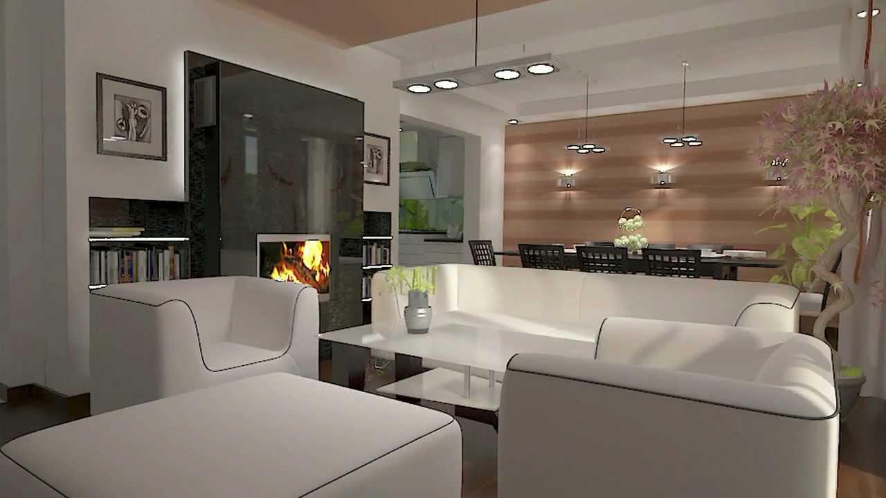 kuchnia po��czona z salonem kitchen design and living room