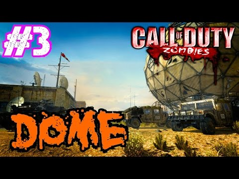 Call of Duty Custom Zombies: MODERN WARFARE 3's DOME!!! Part 3▐ Loving the FROZEN Ice Cube Guns!