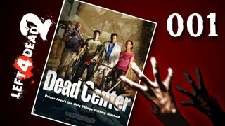 Let's Play Together Left 4 Dead 2 #001 - Endlich wieder Zombies [720p] [deutsch]