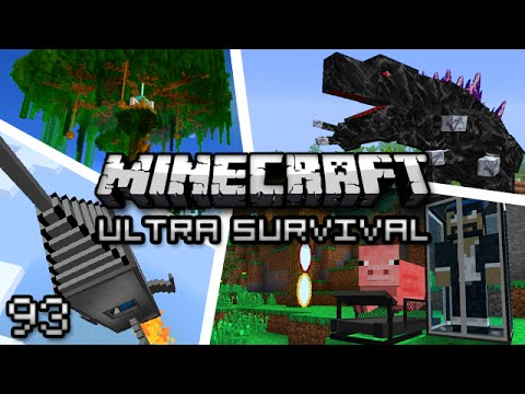 Minecraft: Ultra Modded Survival Ep. 93 — HUNT FOR THE QUEEN!