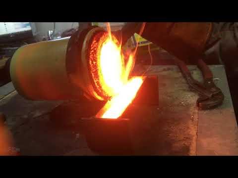 Плавильная печь  медь 119