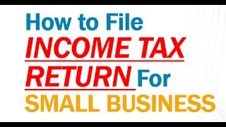 HOW To File INCOME TAX RETURN (ITR) For SMALL BUSINESSMAN | Income Tax E-Filing | ITR 4  LIVE DEMO