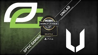 OpTic Gaming vs UNILAD | CWL Seattle Open 2018 | Day 1 | Bravo Stream